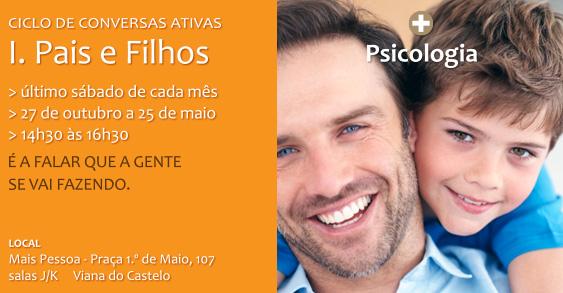 CICLO DE CONVERSAS ATIVAS PAIS E FILHOS